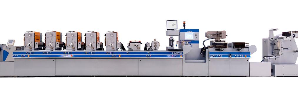 Máquinas de impresión tipográfica Mida